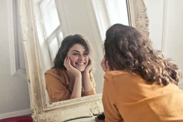 look yourself in the mirror. Reflect on your character