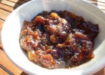 Chutney figues/pêche & Chutney de menthe