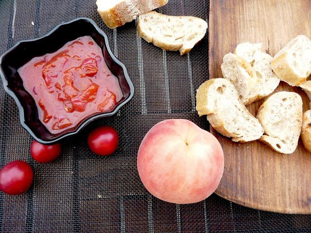 Chutney de prunes du jardin