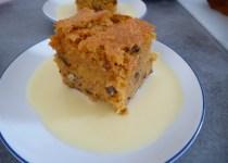 Gâteau fondant à la patate douce & aux noix de pécan