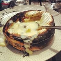 Camembert à la braise
