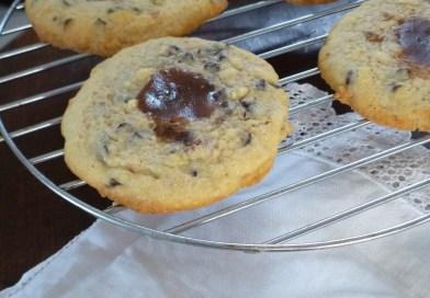 Cookies choco, amandes & coeur crème de marron