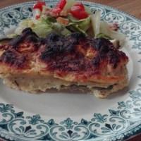 Courgettes farcies au pain, parmesan et basilic