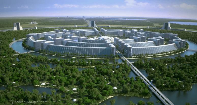 05 The Venus Project - Circular City.png