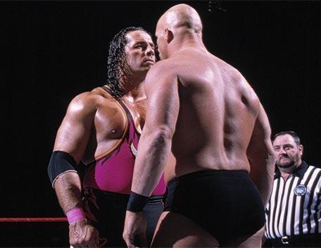 Bret Hart vs Stone Cold