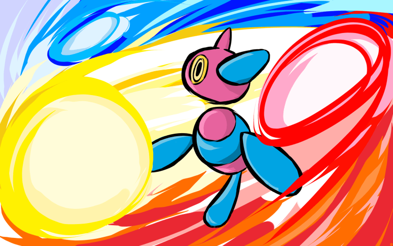 porygon_z___tri_attack_by_ishmam-d5n3gjn