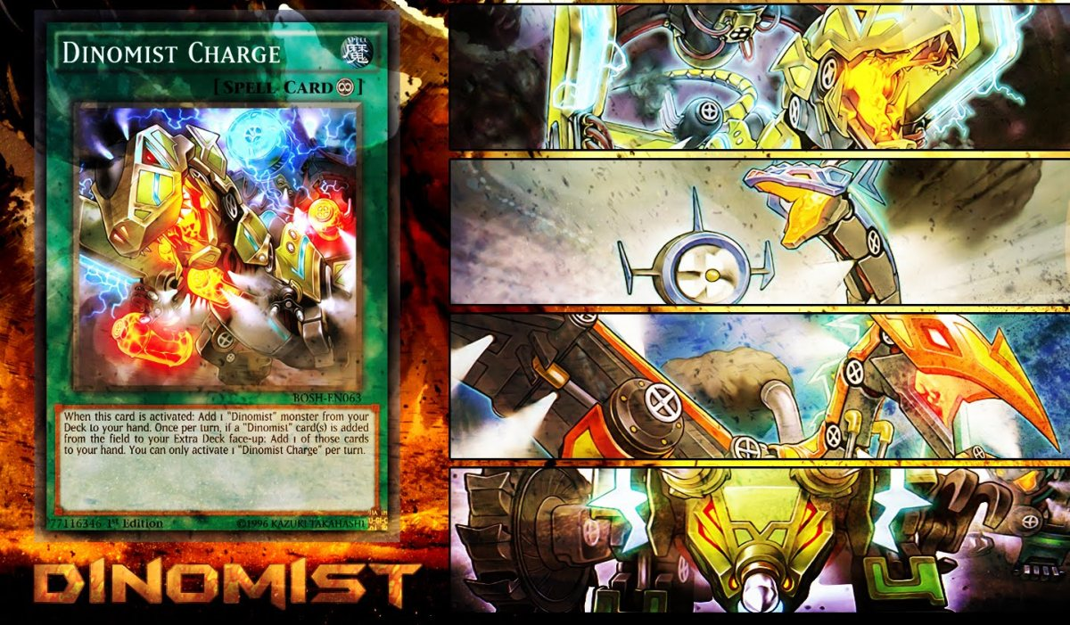 Yu-Gi-Oh decks and combos: Dinomist deck