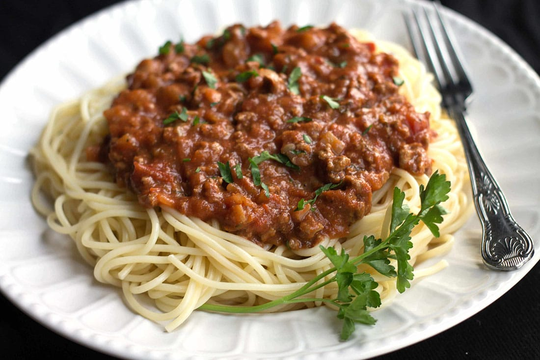 Spaghetti Bolognese, a food review