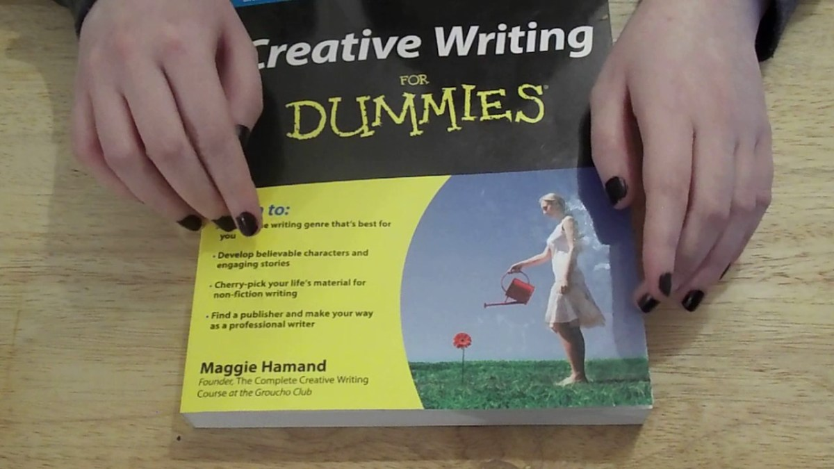 Creative Writing For Dummies, a book review