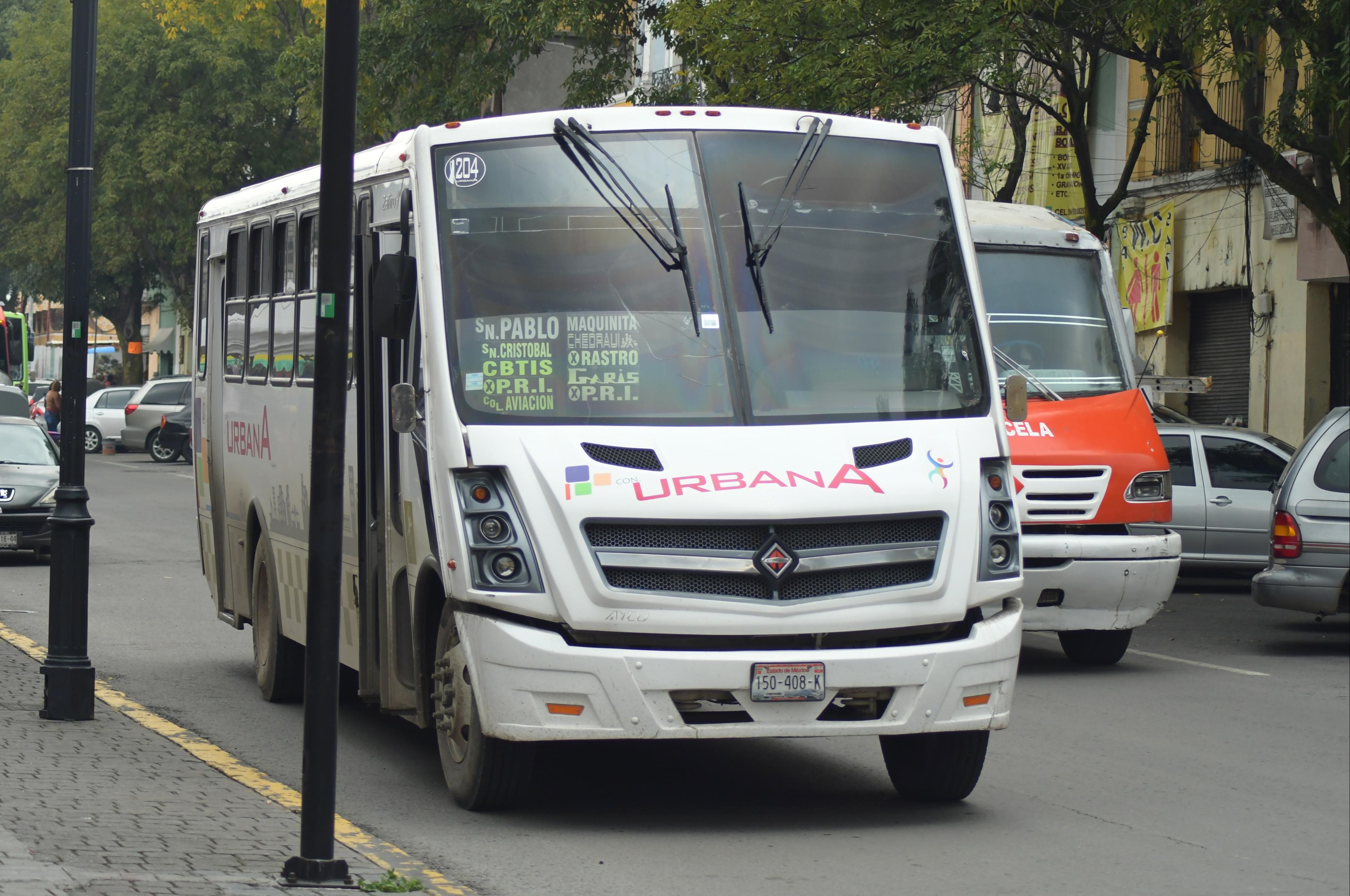 ¿Por qué es tan malo el transporte público de Toluca?
