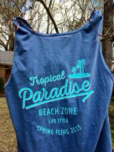 Last year's Spring Fling shirt, may be limited this year.