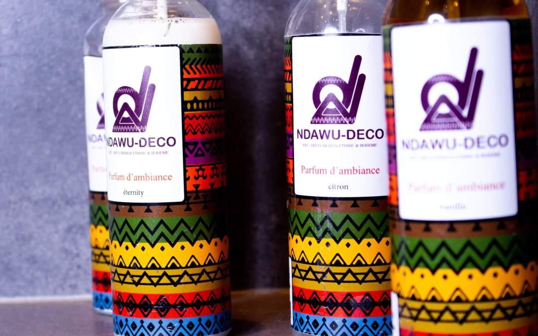 Les parfums d'ambiance de chez Ndawu Decoration