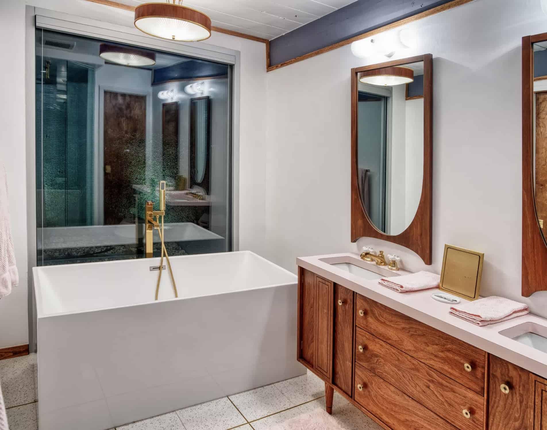 20 mid century modern bathroom ideas