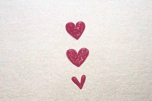 Como desenhar coração (três modelos)