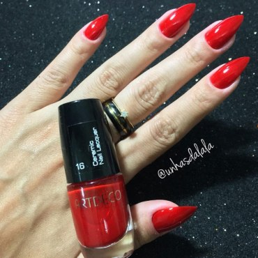 Esmalte Artdeco - 16 Red Stiletto (Ceramic Nail Lacquer)