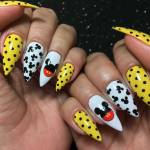 Unhas Decoradas Mickey #01