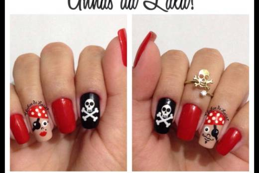 Unhas Decoradas Piratas