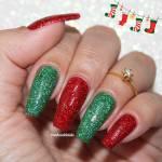 Unhas Decoradas Natal HOLO