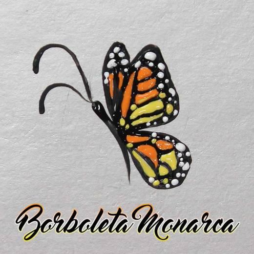Como Desenhar Borboleta Monarca