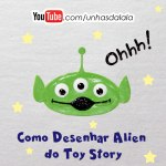Como Desenhar Alien do Toy Story