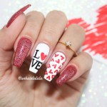 Unhas Decoradas Dia Dos Namorados – LOVE