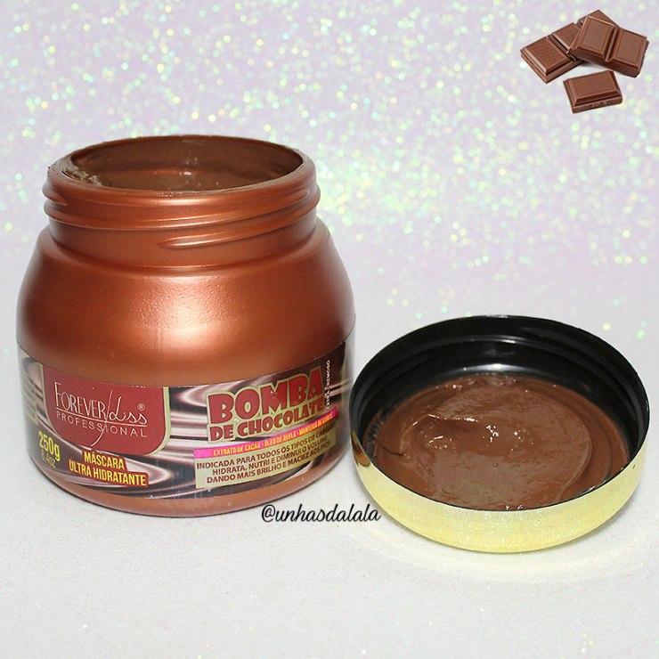 recebidos forever liss, forever liss, boma de chocolate bomba de chocolate forever liss, cuidados cabelo, cabelo