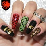 Unhas Decoradas Game Of Thrones