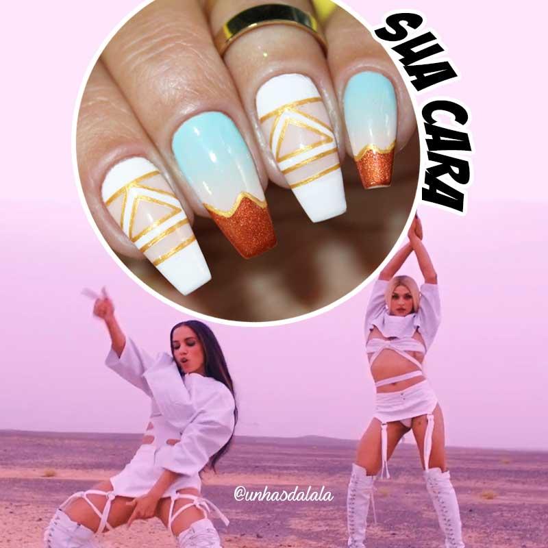 Unhas Decoradas Sua Cara - Major Lazer feat Anitta & Pabllo Vittar