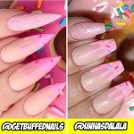 Desafio Unhas do Instagram: Unhas Donuts @getbuffednails