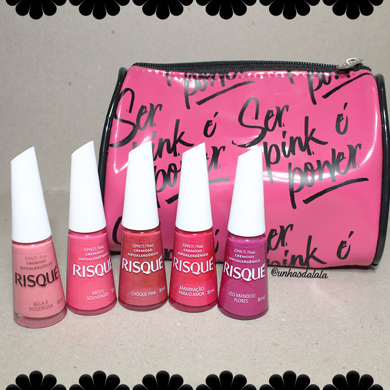 recebidos risqué pink