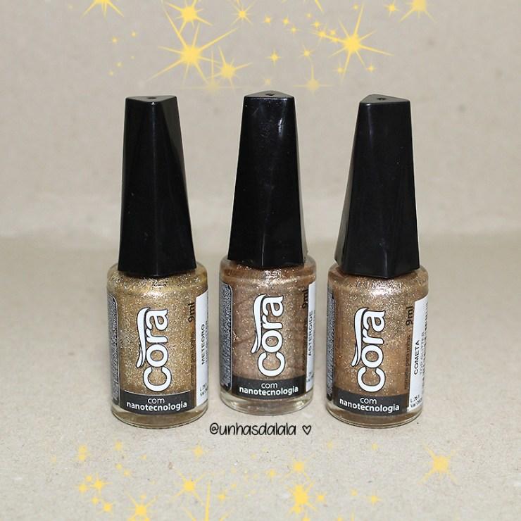 recebidos esmalte cora, glitters, glitter, top glitters cora, glitters cora, esmalte cora, glitter bronze, glitter nude