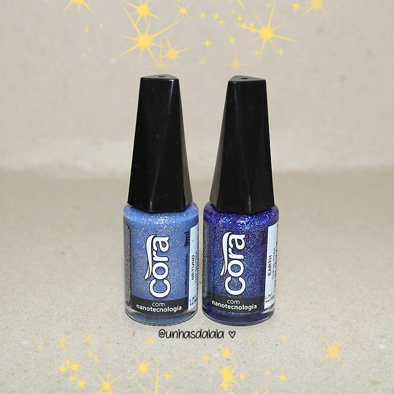 recebidos esmalte cora, glitters, glitter, top glitters cora, glitters cora, esmalte cora, glitter azul
