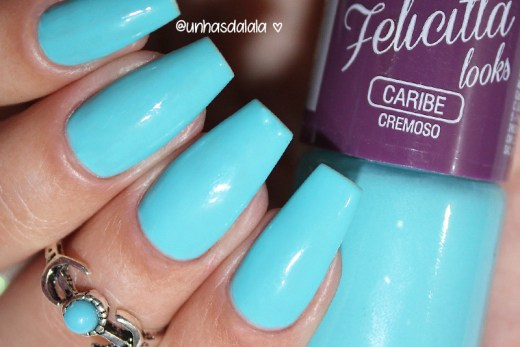 review esmalte felicittá looks caribe