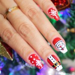 UNHAS DECORADAS PAPAI NOEL