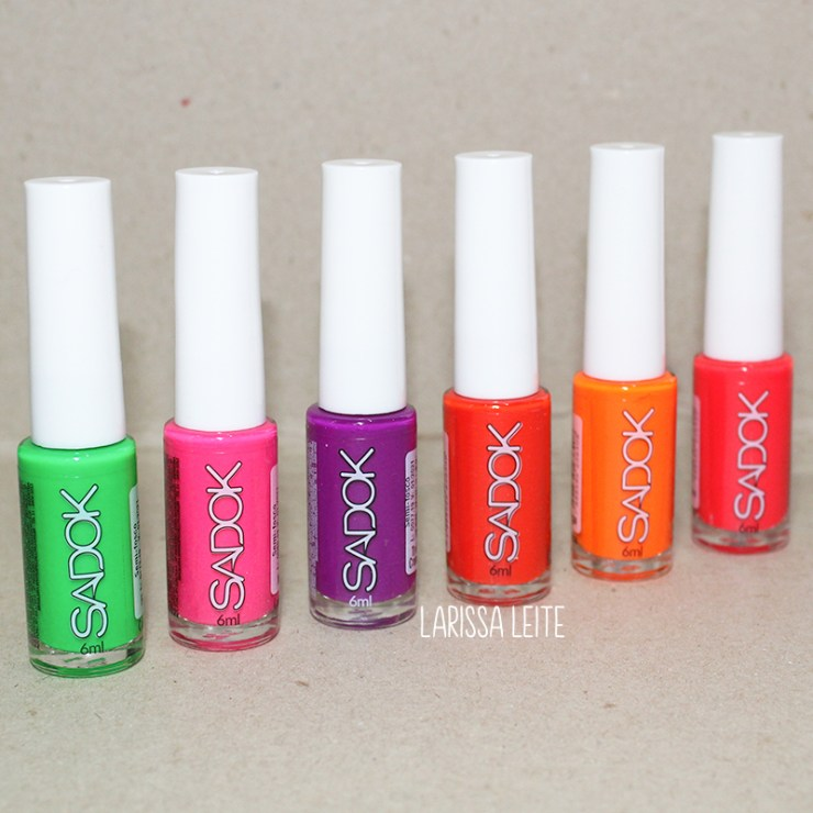 recebidos sadok neon, esmaltes sadok, sadok neon, esmalte neon, esmalte laranja, esmalte laranja neon, esmalte verde, esmalte verde neon, esmalte roxo, esmalte roxo neon,esmalte rosa, esmalte rosa neon, esmalte vermelho, esmalte vermelho neon, speciallita sadok, hits sadok, neon nails, nail polish, recebidos, larissa leite, unhas da lala, lala, blog de unhas, blog novidades, blog estilo, esmaltes verao 2019, verao 2019, esmalte verão 2019, esmaltes neon vibes