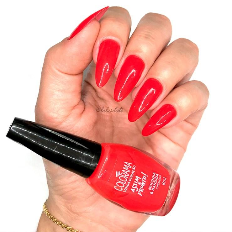 como limpar esmalte, como limpar esmalte vermelho, como limpar esmalte escuro, dica limpar esmalte vermelho, unhas da lala, larissa leite, larissa leite unhas, esmalte vermelho, truque limpar esmalte vermelho, truque limpar esmalte escuro, unhas vermelhas, red nails, esmalte colorama, smalte colorama mocinha e bandida, base fortalecedora lu cayres, cuticula feita, cuticula fundinha, unhas feitas, como usar esmalte vermelho