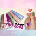 Resenha Esmaltes Coleção Risqué K-Pop Love