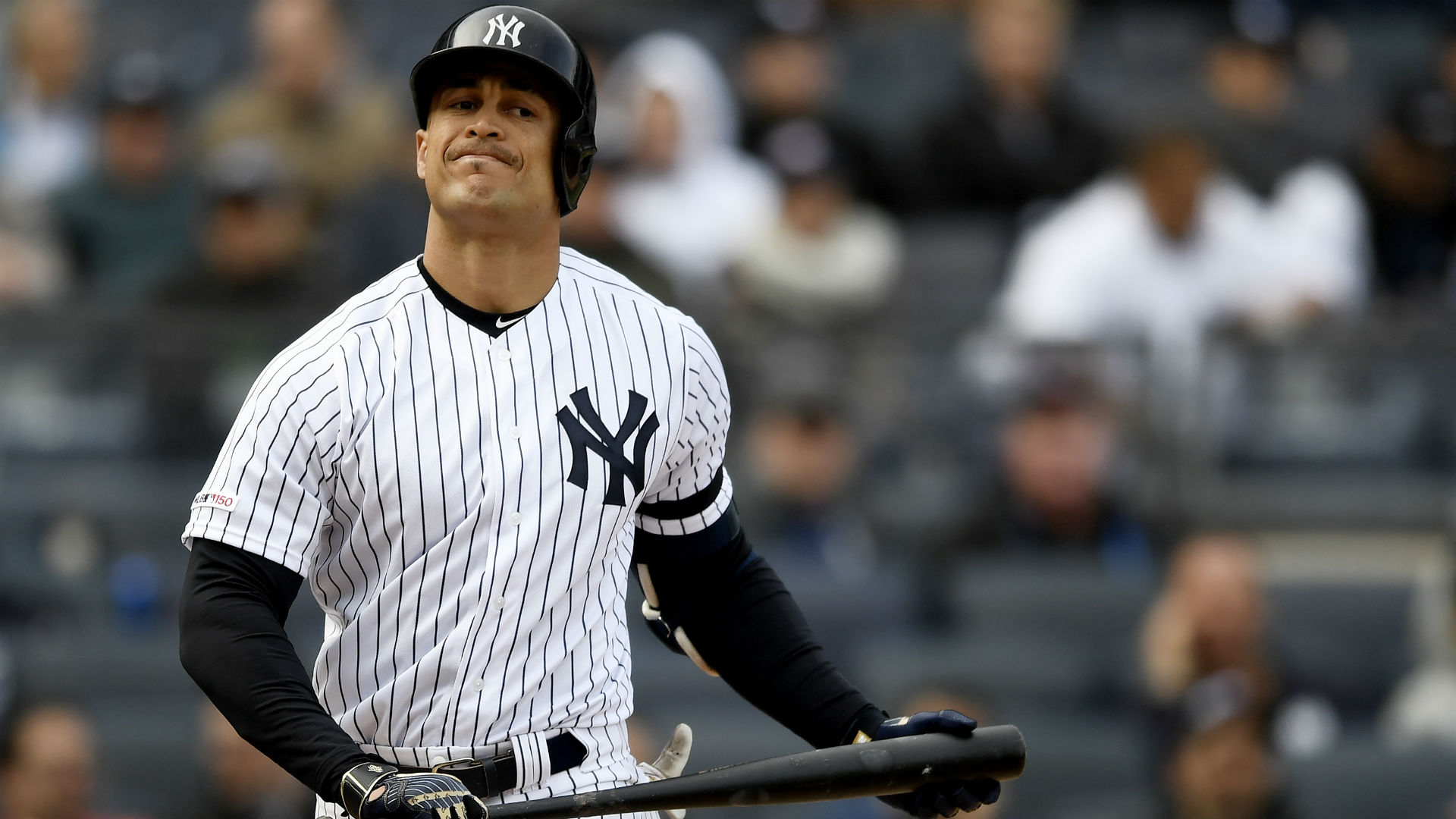Giancarlo Stanton's absence is a big reason why the Yankees lost the ALCS.