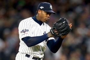 Aroldis Chapman Yankees ALCS
