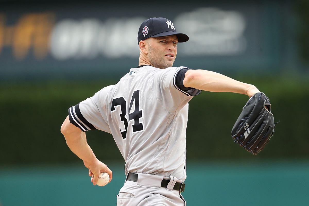 J.A. Happ Yankees
