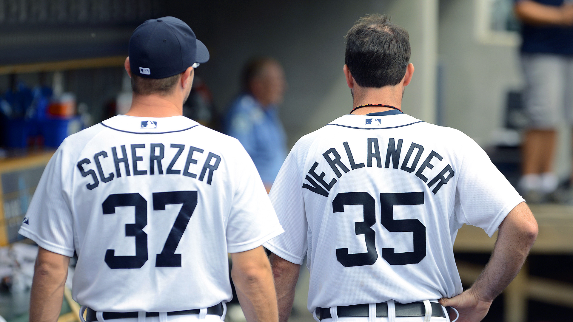 MLB Scherzer Verlander
