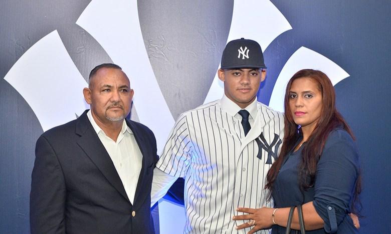 New York Yankees Jasson Domiguez