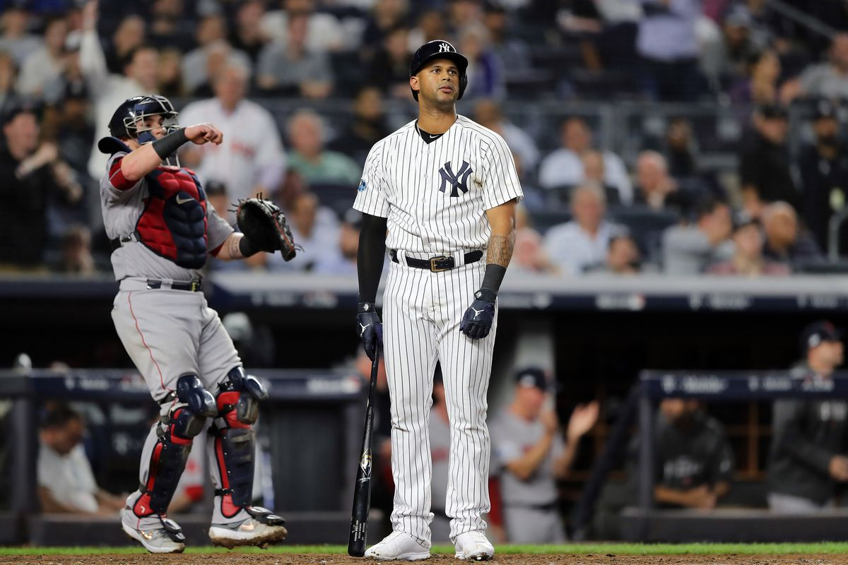 The Yankees are struggling offensively in the early going.