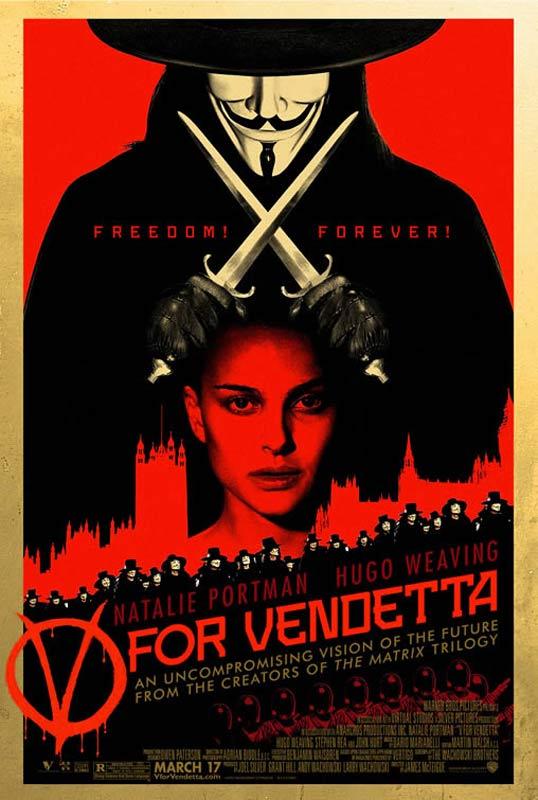 1#-Les films qui font réfléchir – V Pour vendetta