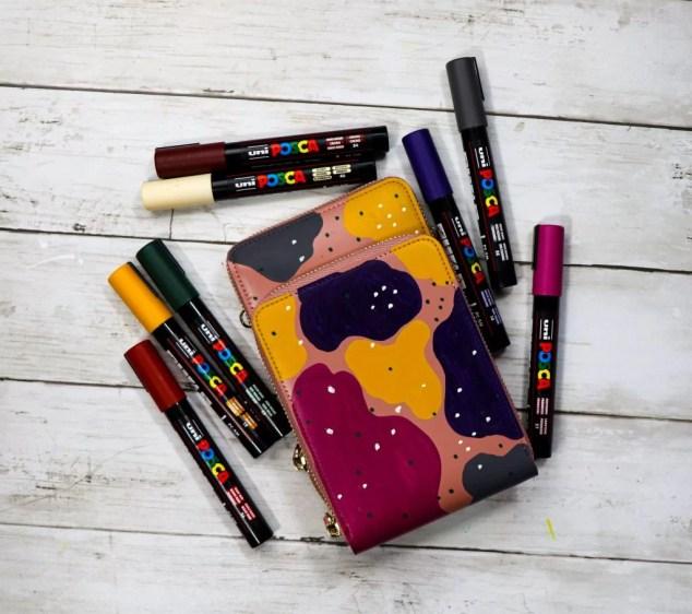 POSCA marker deep colours