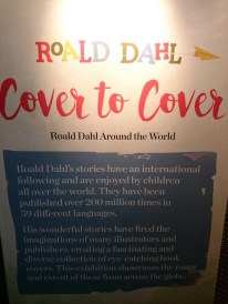 Welcome to Roald Dahl's exhibition!