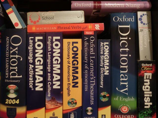English-English_dictionaries_and_thesaurus_books