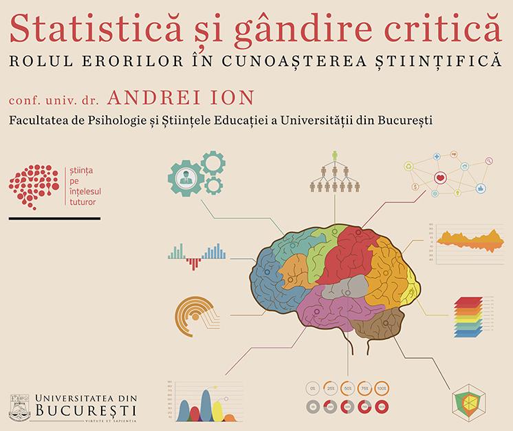 afiș conferință UB Andrei Ion