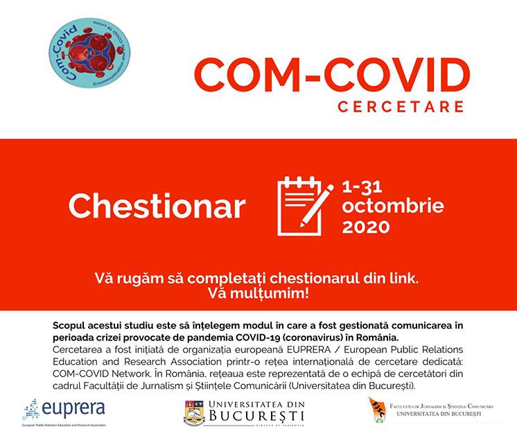 studiu privind comunicarea în cazul pandemiei de covid