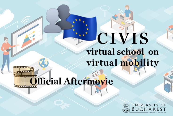civis video virtual school virtual mobilities unibuc 2